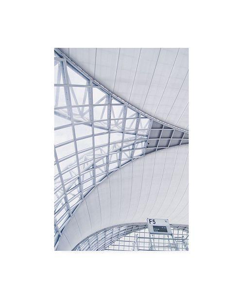 "Trademark Global PhotoINC Studio Airport Canvas Art - 19.5"" x 26"""
