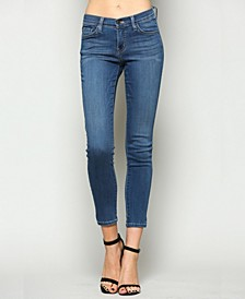 Mid Rise Xtra Lycra Super Soft Ankle Skinny Jeans