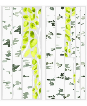 York Wallcoverings Birch Trees Peel and Stick Giant Wall Decals