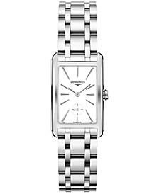 Women's Swiss DolceVita Stainless Steel Bracelet Watch 23.3x37mm