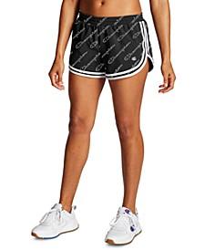 Phys Ed Logo-Print Shorts