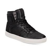 Levi's Men's Mason 501 High-Top Sneakers (Black)