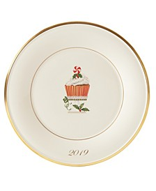 2019 Cupcake Accent Plate