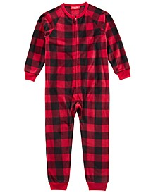 Matching Kids Buffalo-Check Pajamas, Created for Macy's