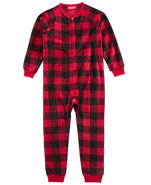 Family Pajamas Matching Kids Buffalo-Check Pajamas, Created for Macy's