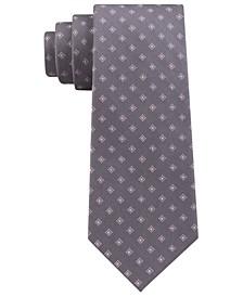 Men's Bicolor Neat Silk Tie