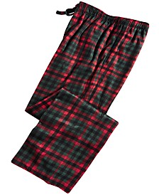 Club Room Men's Plaid Pajama Pants, Created for Macy's