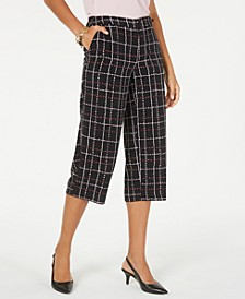 Printed Cropped Pants, Created for Macy's
