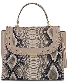 Ingrid Ballington Leather Satchel