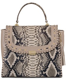 Brahmin Ingrid Ballington Leather Satchel