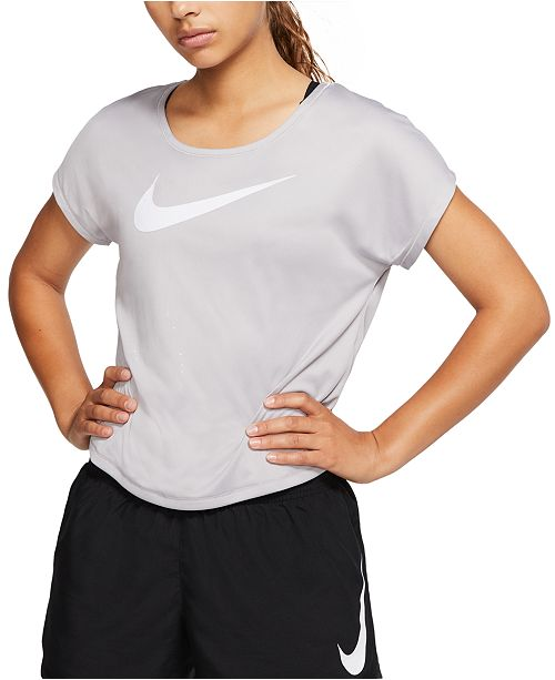 Nike Women's Dri-FIT Logo Running Top