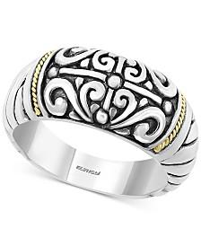 EFFY® Filigree Statement Ring in Sterling Silver & 18k Gold