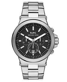 Michael Kors Men's Dylan Stainless Steel Bracelet Watch 45mm