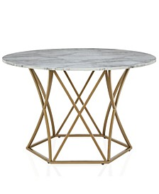 Cosmo living Elle Round Dining Table