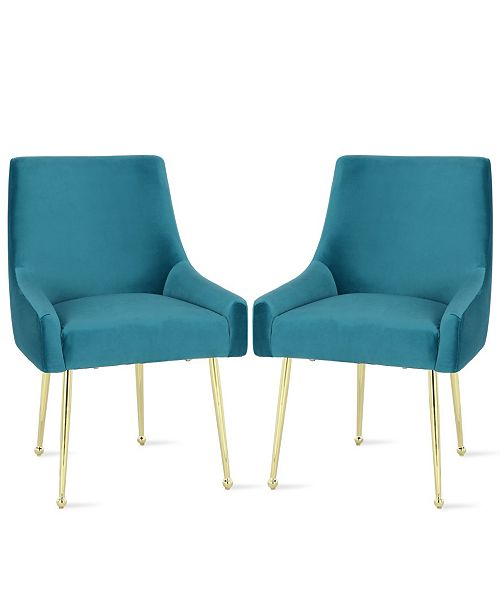 Sensational Novogratz Huxley Dining Chairs 2 Pack Machost Co Dining Chair Design Ideas Machostcouk