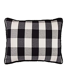 "HiEnd Accents Camille Buffalo Check Decorative Pillow 16"" x 26"""