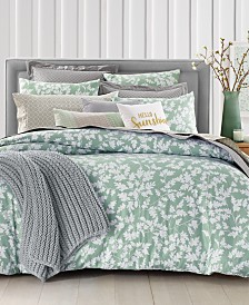 Charter Club Damask Designs Oak Leaf  Bedding Collection, Created for Macy's