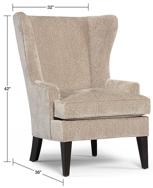 Martha Stewart Collection Saybridge Fabric Accent Wing
