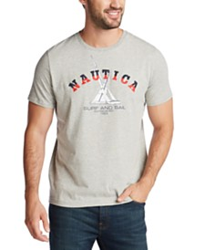 Nautica Men's Sun Surf Sail Graphic T-Shirt