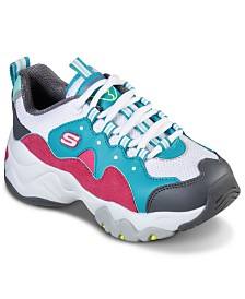 Skechers Big Girls D'Lites 3.0 Zenway Walking Sneakers from Finish Line
