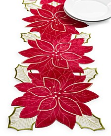 "Kori Holiday Cutwork 14"" x 72"" Figural Runner"