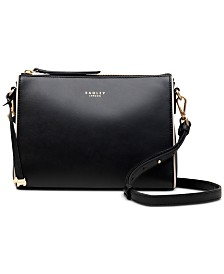 Radley London Zip Top Leather Crossbody