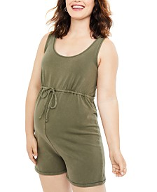 Motherhood Maternity Romper