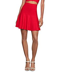 BCBGMAXAZRIA Ruffled A-Line Skirt
