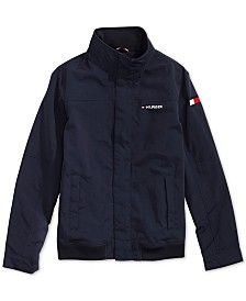 Tommy Hilfiger Adaptive Little Boys Yacht Jacket with Magnetic Buttons