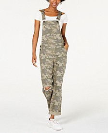 Ripped Camouflage Overalls