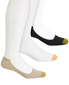 Gold Toe Men's 3-Pk. Low-Profile Penny Socks