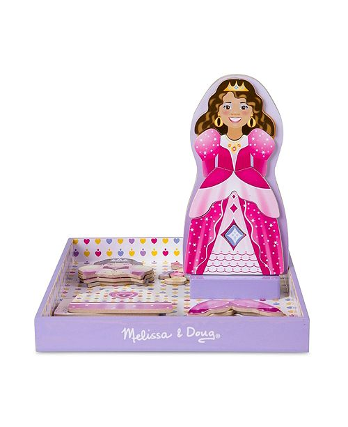 Melissa and Doug Magnetic Dress-Up - Crowns & Gowns