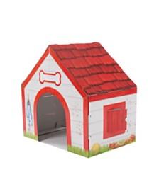 Melissa and Doug Doghouse Plush Pet Playhouse