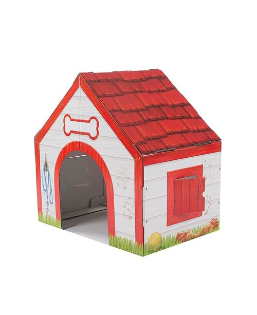 Melissa and Doug Doghouse Plush Pet Playhouse
