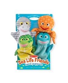 Melissa and Doug Sea Life Friends Hand Puppets
