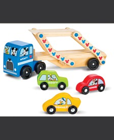 Melissa and Doug Mickey Mouse Wooden Car Carrier