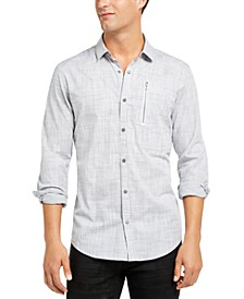 INC Men's Murdock Cross Hatch Shirt, Created for Macy's