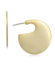 Gold-Tone Modern Hoop Earrings, Created for Macy's