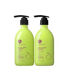 Luseta Apple Cider Vinegar Shampoo & Conditioner Set 33.8 Ounces