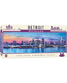 Masterpieces Detroit 1000 Piece Panoramic Puzzle