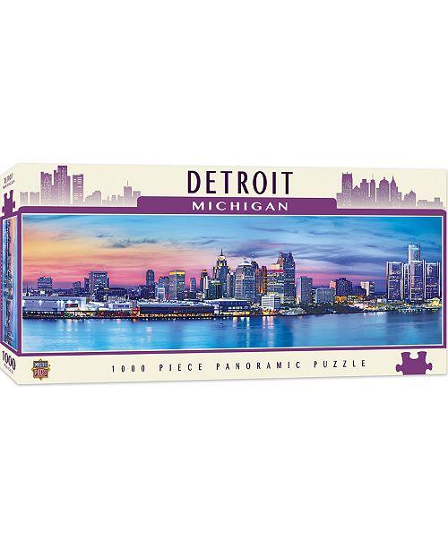 MasterPieces Puzzle Company Masterpieces Detroit 1000 Piece Panoramic Puzzle