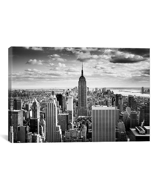 iCanvas Nyc Downtown by Nina Papiorek Wrapped Canvas Print Collection