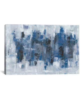 """Midtown Moonlight by Emma Bell Wrapped Canvas Print - 18"""" x 26"""""""