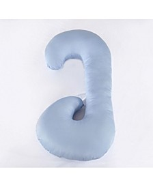 U Shaped Pregnancy Body Pillow with Zippered Cover