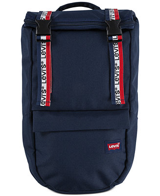 Levi S Roll Top Logo Backpack Reviews All Accessories Men Macy
