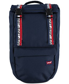 Levi's® Roll-Top Logo Backpack