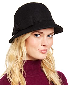 INC Modern Bow Cloche, Created for Macy's