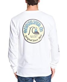 Quiksilver Men's Daily Wax Long Sleeve T-Shirt
