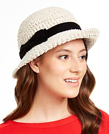 INC Packable Bow Cloche, Created for Macy's