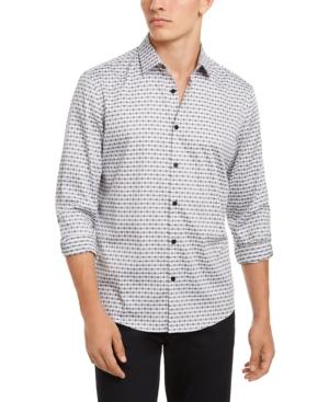 Alfani Men's Luke Plaid Shirt, Created for Macy's